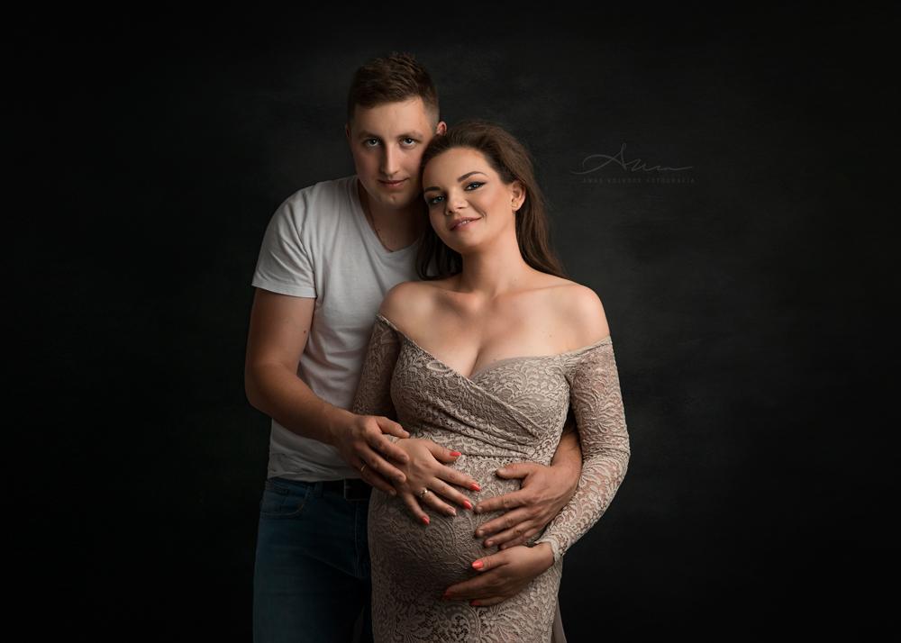 zdjęcia ciążowe z partnerem