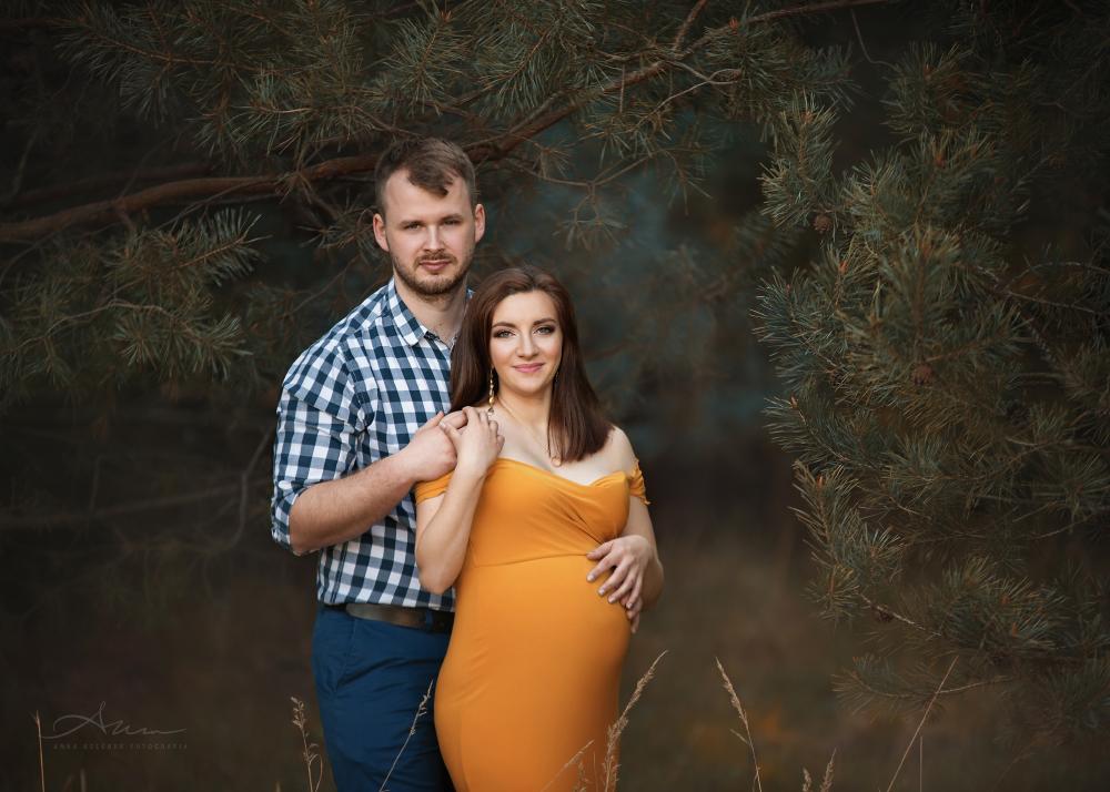 plenerowe sesje ciążowe
