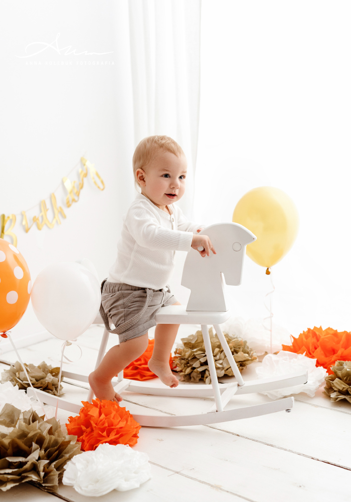 sesja na pierwsze urodziny