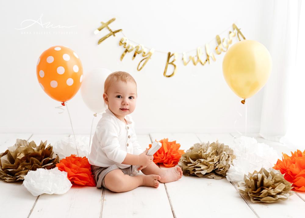 sesja urodzinowa na roczek
