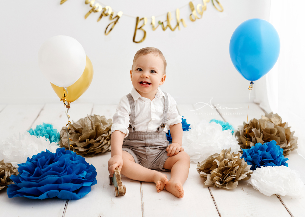 sesja roczkowa urodzinowa